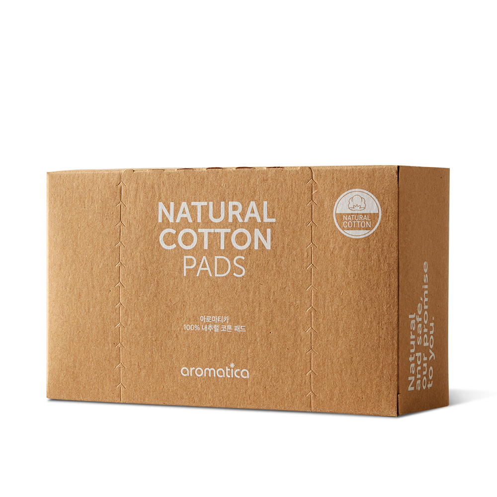 Natural Cotton Pads
