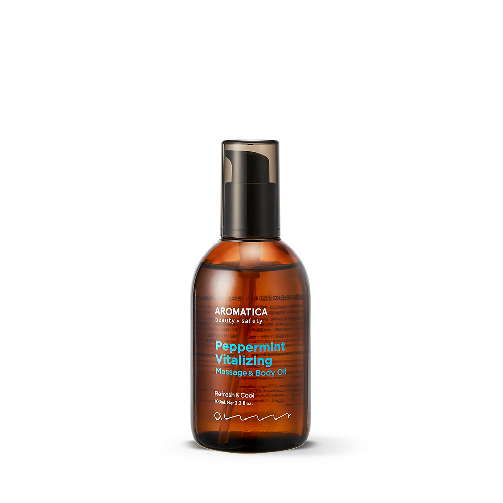 Peppermint Vitalizing Massage & Body Oil