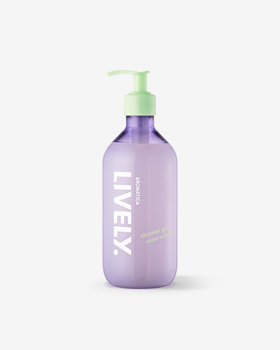 Lively Shower Gel, Sweet Lavender